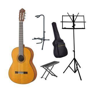 Yamaha Guitar Rental