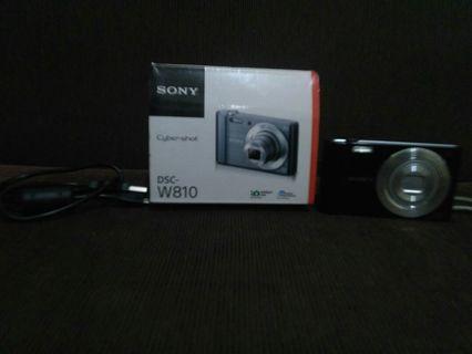 SONY W810 Compact Camera-Black