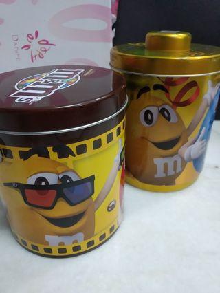 Unique/Limited M&M's containers