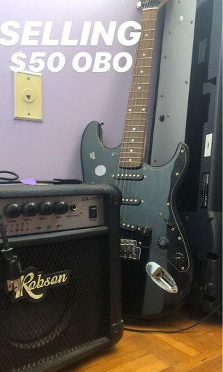 Robson electric guitar
