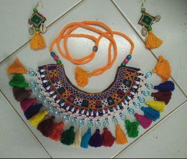 🚚 Handmade kutch necklace