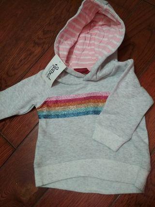 Sweater Rainbow Glitter