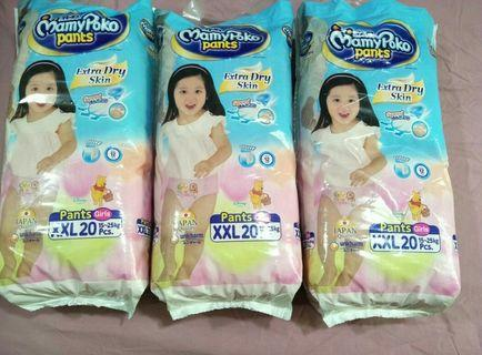 Mamypoko dry pants XXL (GIRLS)