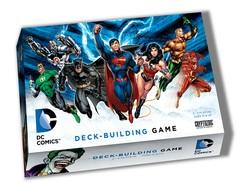 DC Comic Deck Building Brand New Board Game