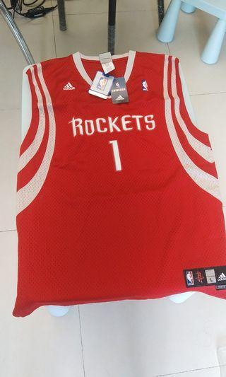 NBA Tracy Mcgrady 1 adidas Rocket swingman jersey