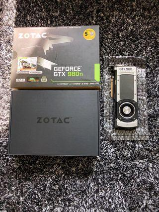 ZOTAC GTX 980TI (founders edition)