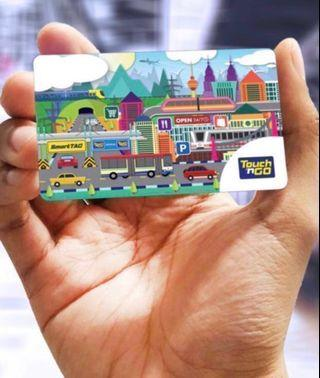 Touch n go card with credits (New Stock) RM50 Credits
