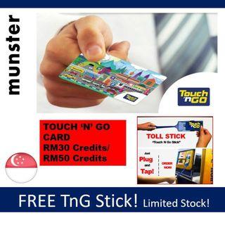 Touch n go card with free touchngo stick!New STock! Tng touchngo card Touch and go card