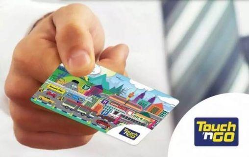 Touch n go card with RM30 credits tng touchngo