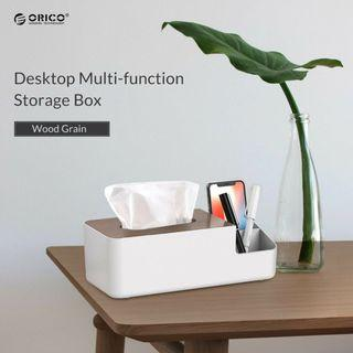 🚚 ORICO Tissue Box Multi-function Organizer Desktop Storage Kleenex Cover Holder