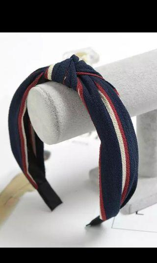BN Royal colour Korean knot headband hairband