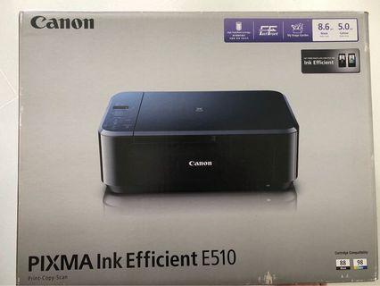 🚚 Canon Printer E510