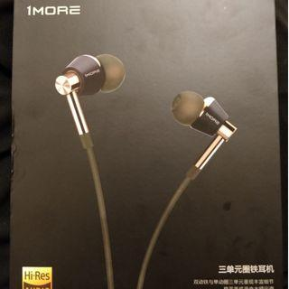 1more triple driver Superb sounding in-ear with mic
