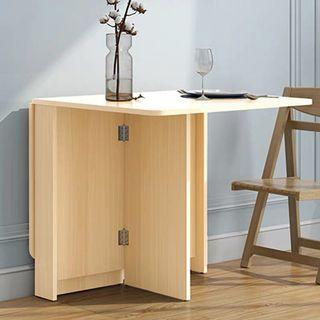 Dining table can flip, free delivery to your home