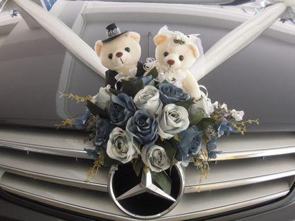 Wedding Car Decoration / Wedding Car Deco / Wedding Car Decor / Bridal Car Decoration / Bridal Car Deco / Bridal Car Decor / Wedding Car Flower / Bridal Car Flower