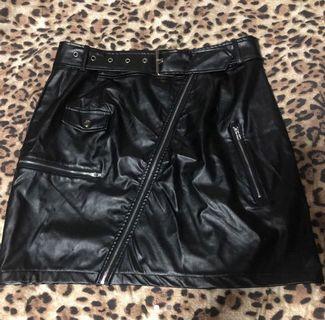 🦋 Fo Leather Mini Skirt 🦋