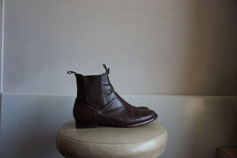 Brown Leather Boots 8
