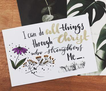 🚚 Handmade Card 9 - Do All Things