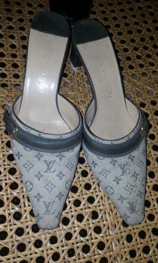 Louis Vuitton Minilin Sandals Authentic
