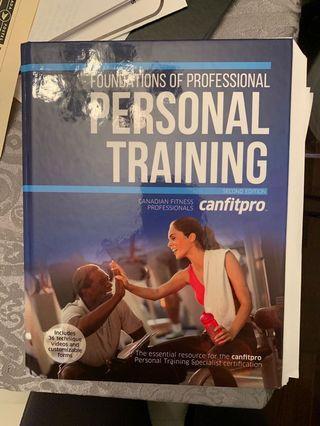 Canfitpro Personal Training Textbook.