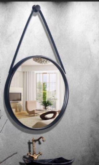 Wall Mirror without the belt strap and wall knob