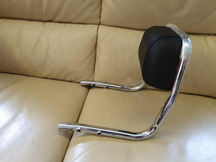 Back rest for Royal Enfield