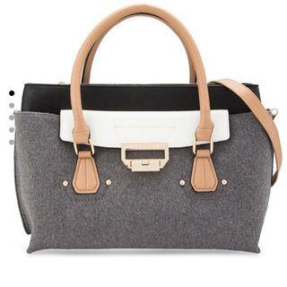 🚚 River Island Grey Contrast Bag