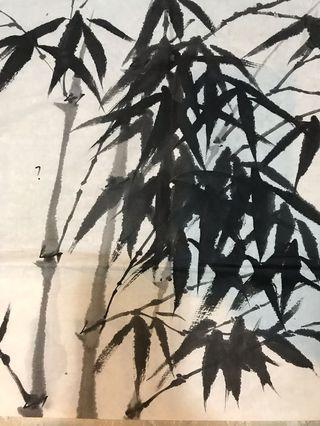 Antique Vintage Collectibles Arts Antiques Chinese Painting antique painting Crafts Caving Vase Chinese Porcelain Everything Else Others Tops 中国画书法收藏