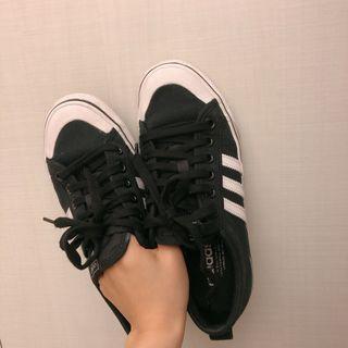 🚚 Adidas nizza黑色帆布鞋⚠️限時特價