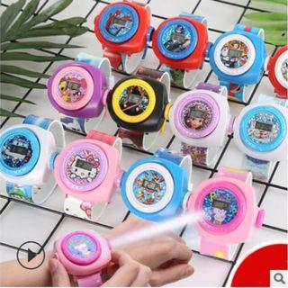 In Stock! Projector Watch! Perfect as goodie bag item for your kid party!