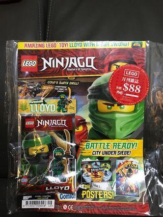 Lego Ninjago 雜誌人偶