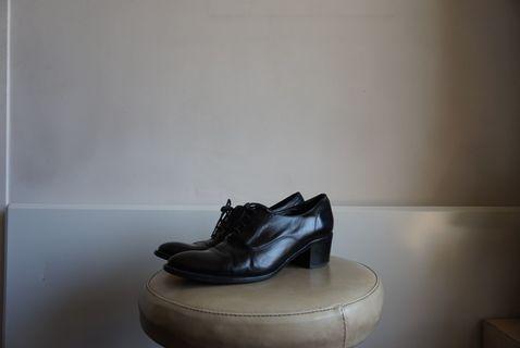 Black Lace-Up Dress Shoes