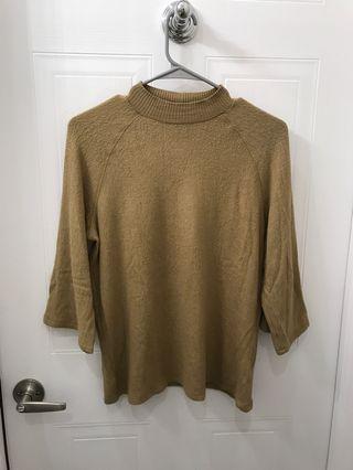 Mock next sweater