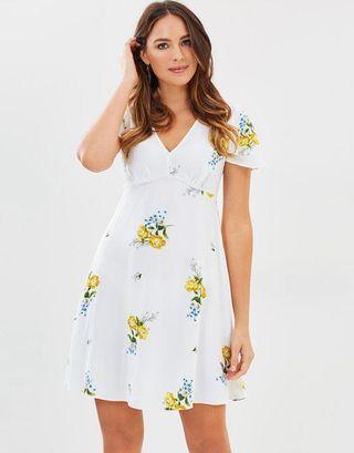 Dorothy Perkins Floral Tea Dress