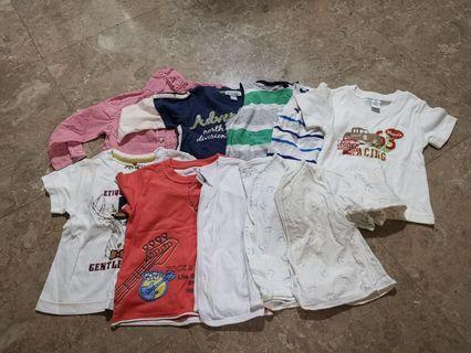 50 pc boy clothes 6-12m