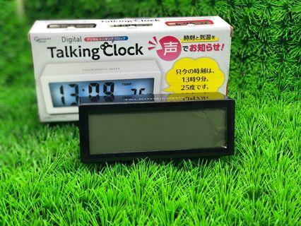 Talking Clock [Black] (Toreba)