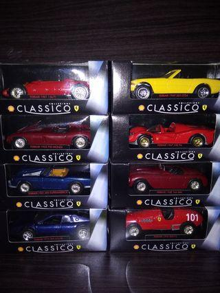 Shell Car Classico Colellection Diecast