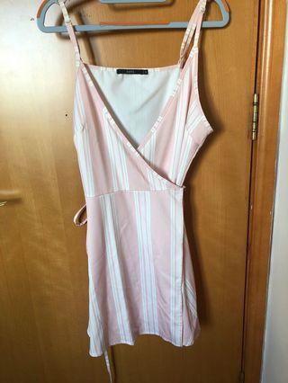 粉色裙(可束腰帶)