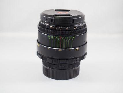 Helios 44-2 58mm f2