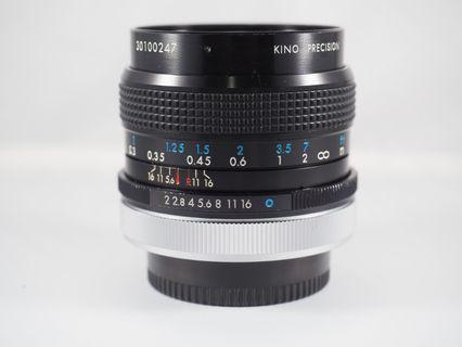 Kiron 28mm f2 (FD Mount)