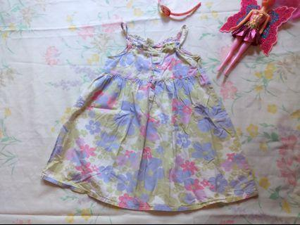 Cherokee Floral Dress 4t