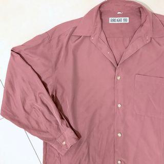 Blush Vintage Silk Blouse