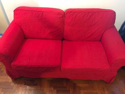 IKEA sofa (EKTORP model)