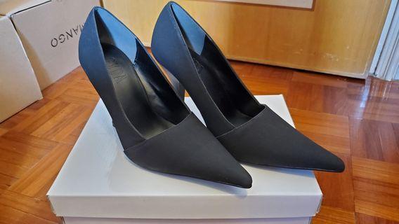 日本GYDA 黑色高踭鞋(10cm heel)