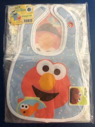 Sesame Street Elmo bib 芝麻街 BB口水肩