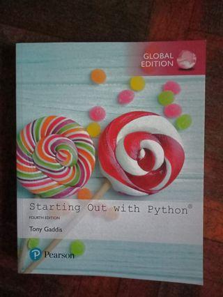 Python Programming Textbook - Starting Out With Python (4th edition)