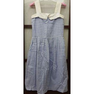 🚚 二手日本製無袖長洋裝(女裝)
