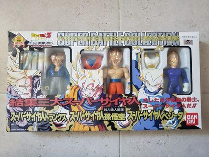 日版 絕版 龍珠 Dragonball Z 超戰士大全 三大超級撒亞人 特別版