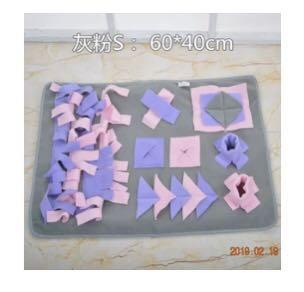 🚚 Dog toy , sniffing mat . Dog treats