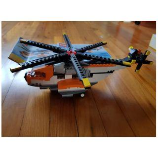 LEGO 7345 : Helicopter with small car